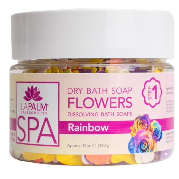 FLOWER SOAP RAINBOW 340ML (ΣΑΠΟΥΝΙ)